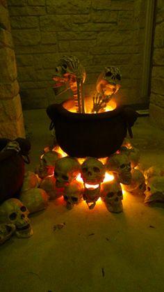 Purgatory Cauldron Prop - man it's hot in here