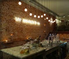 Ter Marsch & Co restaurant and late night bar Rotterdam.