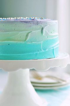 Simple Colorful Cake
