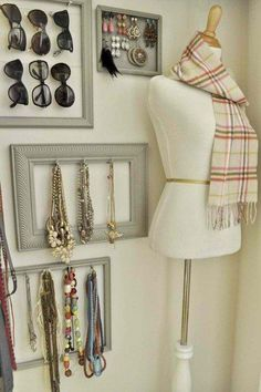 Great closet organizing ideas.