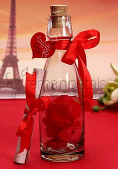 A #Valentine #Gift that never goes out of style, send your love message in this bottle on this 14 Feb.