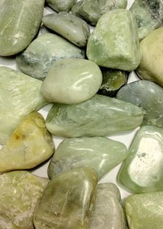 Jade~love, healing, money, protection, balances emotions, brings peace, stone of luck, prosperity and friendship, enhances dreams, knowledge, wisdom, courage