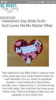 God loves me, no matter what!