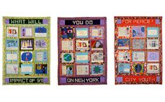 Peace Story Quilt - cool!
