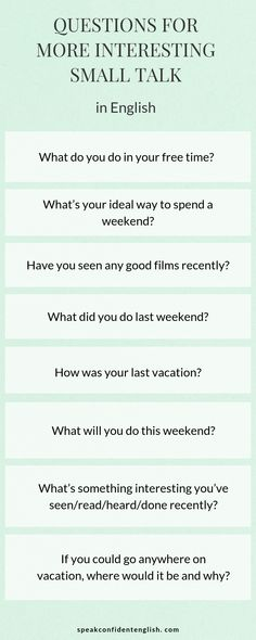 3 Simple Tips and Easy Questions to Master Small Talk in English Small talk in English might seem unnecessary but the truth is we use it for a reason. Get my favorite questions & tips for successful small talk in English. English Talk, Learn English Grammar, English Writing Skills, English Fun, English Vocabulary Words, English Language Learning, English Phrases, Learn English Words, English Lessons