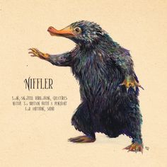 Niffler Animals Picture Canvas Painting Wall Art Fantastic Beasts Modern Nordic Poster Prints On Canvas For kids Room No Frame Hogwarts, Framed Art Prints, Canvas Prints, Beast Creature, Fantastic Beasts And Where, Harry Potter Art, Metal Art, Just For You, Drawings