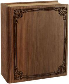 Wood Book Urn - Memorial Urns