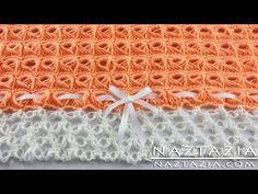 Marshmallow Crochet Baby Blanket - YouTube