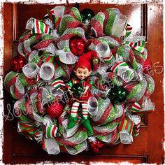 Elf Christmas Wreath!