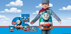 All aboard the birthday train! Thomas the Tank Engine and all of his friends are here to party. If your little one loves Thomas...