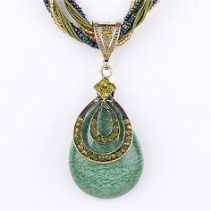 Collier Femme Women Accessories Choker Vintage Statement Necklaces & Pendants Collar Mujer Boho Bohemian Colar Jewelry Bijoux