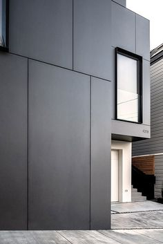 home by Edmonds + Lee Architects - Cube Residence - San Francisco, CA. E… - new design ideas - home by Edmonds + Lee Architects – Cube Residence – San Francisco, CA. Exterior Wall Cladding, House Cladding, Facade House, House Facades, Stucco Exterior, Facade Design, Exterior Design, Exterior Colors, Architecture Résidentielle