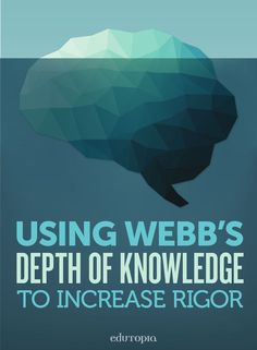 Norman Webb's Depth of Knowledge Levels is a system that categorizes tasks according to the complexity of thinking required to successfully complete them. Instructional Coaching, Instructional Strategies, Differentiated Instruction, Teaching Strategies, Teaching Tips, Instructional Design, Teaching Biology, Teaching History, Systems Thinking