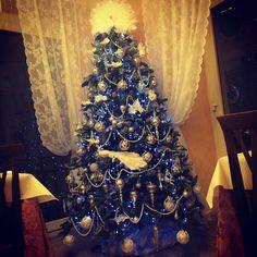 #lorelintheworld #merrychristmas #buonnatale #platinumtree #bluechristmas #pearls