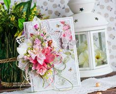 Сундучок вдохновения: Spring card for Craft and You DT - Весенняя открыт...