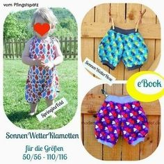 Sewing / Ebook sunny weather clothes - Patterns and Tutorials at Makerist