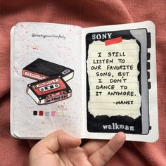 Poetry Journal, Journal Quotes, Art Journal Pages, Journal Ideas, Bullet Journal Notebook, Bullet Journal Themes, Bullet Journal Inspiration, Painting Digital, Kunstjournal Inspiration