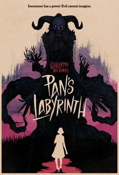 Pans Labyrinth by Matthew Griffin - Red Colorway