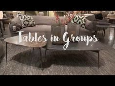 It's easy to get stuck in a rut in your home, but quirky accent tables can really change up your space! From exotic styles to unusual materials and heights, @lauriemarchhome shows us the trends she saw earlier this year at Las Vegas Market. #BehindtheDesign
