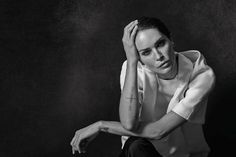 Erin Wasson in Fall 2013 Alexander Wang for the 2013 CFDA Fashion Awards Journal.