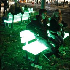 Festival of Light ~ Berlin - Cool chair!