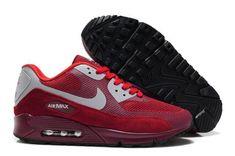 online store 549b4 0e5fc Men's Nike Air Max 90 Red Shoes Air Max 90 Hyperfuse, Nike Air Max 90s