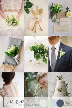 A Fresh Spring Palette | Style Focused Wedding Venue Directory | Coco Wedding Venues