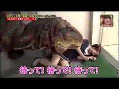 Full video Hilarious Japanese Dinosaur Prank 일본 공룡몰카1