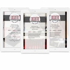 We also designed L'Assiette's on and offline menu visuals. #letterfour #design #development #interiordesign #exteriordesign #letterhead #typeface #menudesign #webdesign #digital #graphicdesign #lassiette #restaurant #commercialdesign   ||  For quotes call: 323.275.1140, email: info[at]letterfour.com, or visit: bit.ly/lttrfour