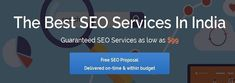 Best SEO Services India is committed to provide the best SEO, digital marketing and web design services in India. Get free analysis of your website TODAY.