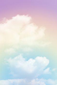 Fondo de nubes con un color pastel. Foto...   Premium Photo #Freepik #photo #fondo Pastel Color Wallpaper, Pastel Background Wallpapers, Blue Wallpapers, Colorful Wallpaper, Wallpaper Backgrounds, Hd Wallpaper Iphone, Tumblr Wallpaper, Love Wallpaper, Image Ciel