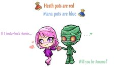 League of Legends Valentine's Day Poem