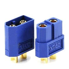 Amass XT60 Male/Female Bullet Connector Plugs Blue For RC Lipo Battery #rccarsdiy