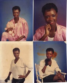 Senior portraits from West Point High School class of 1986
