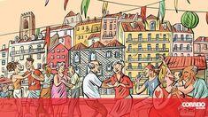 Um mês a 'vadiar' nas festas de #Lisboa