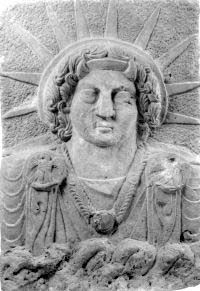 """Shamash, Sun God in Babylonia and Mesopotamia. - Interesting that this sun symbol  (and halos) adorn """"angels"""" and Mary, Jesus etc. in churches and religious art. Origin: Babylon."""