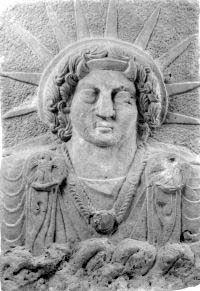 Shamash, Sun God in Babylonia and Mesopotamia.