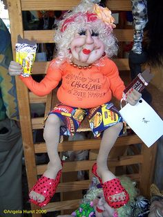 funny old lady by amh615, via Flickr