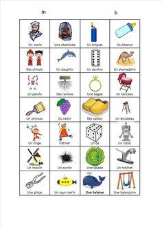 Lecture CP avec Pilotis : les images pour le mémo des sons de la période 3 - La classe d'Ameline
