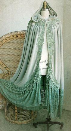 #Vintage #hooded #shawl