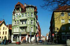 HANNOVER Nordstadt Heisenstraße Grünes Haus Hanover germany