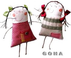 -smiling dolls