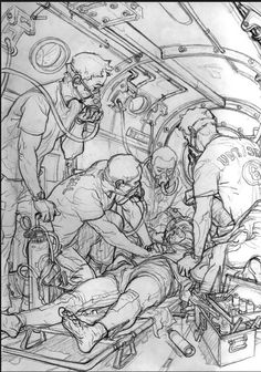 Superman, Captain America and Nick Fury vs. Stormtroopers - Great pencil drawing, and ultimate nerd mash-up! Comic Books Art, Comic Art, Art Drawings, Drawing Sketches, Sketching, Image Of The Day, Geek Art, Star Wars Art, Art Sketchbook