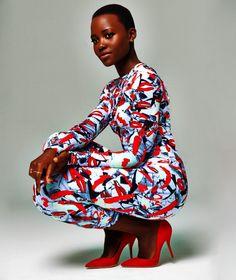 I love her solo much ❤️  Actress Lupita Nyongo beautifully captured by Matt Doyle.