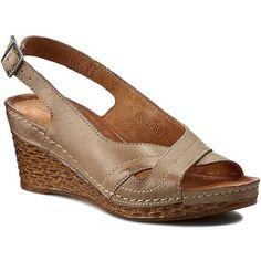 Sandály POLLONUS - 5789 Capucino