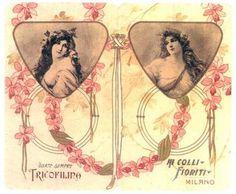 Almanacco profumato edito a cura della Colli Fioriti di Milano per l'anno 1910