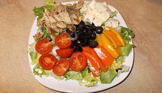 masa de pranz Cobb Salad, Eat, Food, Essen, Meals, Yemek, Eten
