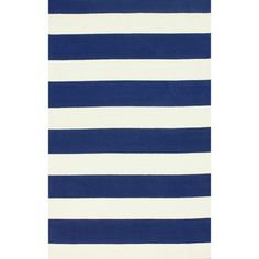 http://www.overstock.com/Home-Garden/nuLOOM-Hand-hooked-Modern-Navy-Wide-Stripe-Rug-76-x-96/8530898/product.html?CID=214117 $368.99