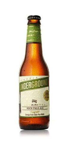 The Beers – Underground Rock Pale Ale (American India Pale Ale). Cervejaria Curitiba Ltda. Curitiba-PR. #brazil #beer