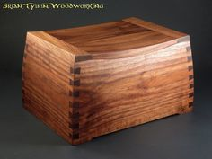 Curved Dovetail Cremation Urn - Woodworking Talk - Woodworkers Forum